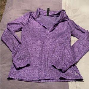 REEBOK Long-sleeved w/ quarter zip